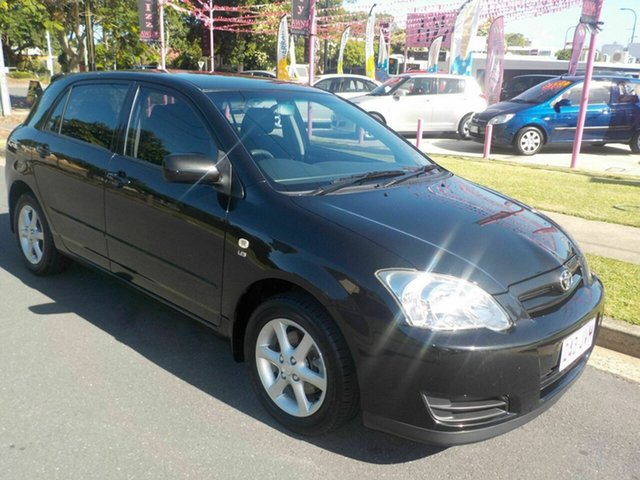 Used Toyota Corolla Ascent Sport, Margate, 2006 Toyota Corolla Ascent Sport Hatchback