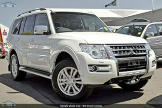 Discounted Demonstrator, Demo, Near New Mitsubishi Pajero GLS, Nundah, 2015 Mitsubishi Pajero GLS NX MY16 Wagon