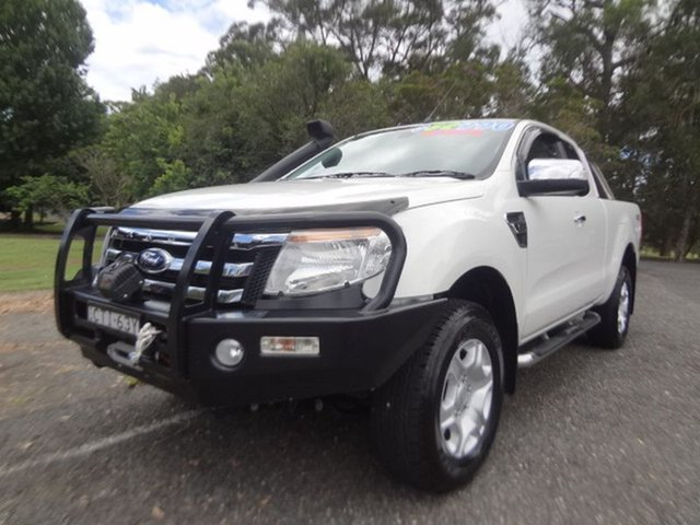Used Ford Ranger XLT Super Cab, Coffs Harbour, 2014 Ford Ranger XLT Super Cab Utility
