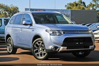 Discounted Demonstrator, Demo, Near New Mitsubishi Outlander PHEV, Nundah, 2014 Mitsubishi Outlander PHEV ZJ MY14.5 Wagon