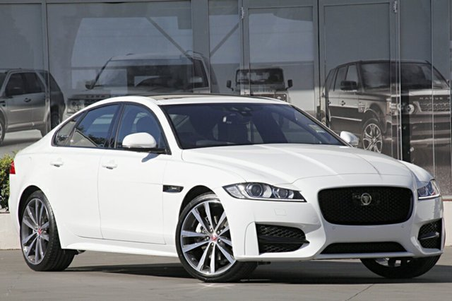 Demonstrator, Demo, Near New Jaguar XF 25T R-Sport, Narellan, 2015 Jaguar XF 25T R-Sport Sedan
