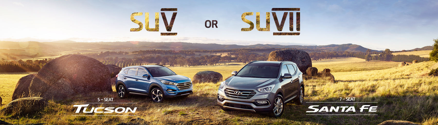 New Hyundai Tucson and Santa Fe