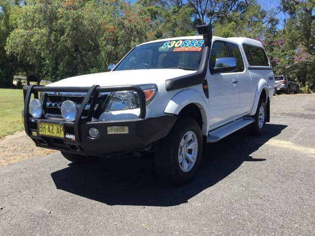 Used Ford Ranger XL Super Cab, Coffs Harbour, 2011 Ford Ranger XL Super Cab Utility