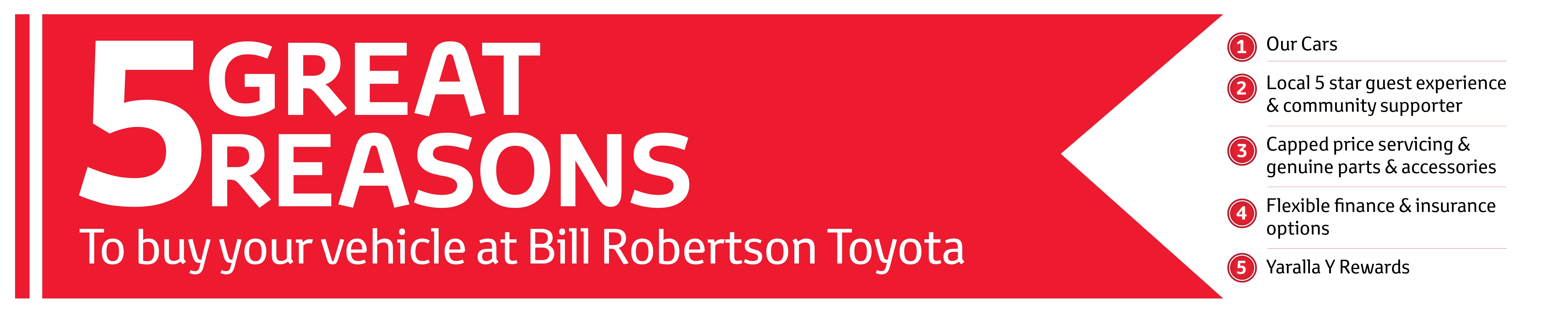 86 | Bill Robertson Toyota | Toyota Dealer Gladstone