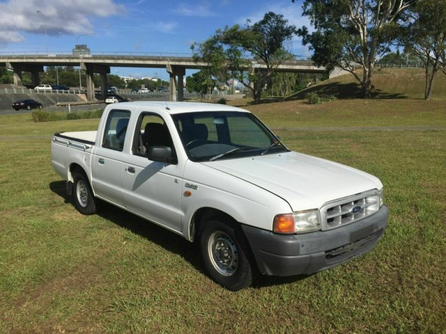 Used Ford Courier GL Crew Cab, Burleigh Heads, 2001 Ford Courier GL Crew Cab PE Cab Chassis