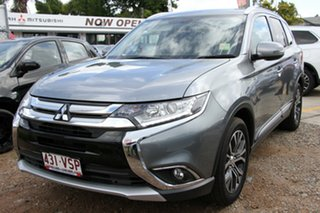 Discounted Demonstrator, Demo, Near New Mitsubishi Outlander XLS 2WD, Nundah, 2015 Mitsubishi Outlander XLS 2WD ZK MY16 Wagon