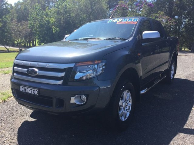 Used Ford Ranger XLS Double Cab, Coffs Harbour, 2014 Ford Ranger XLS Double Cab Utility