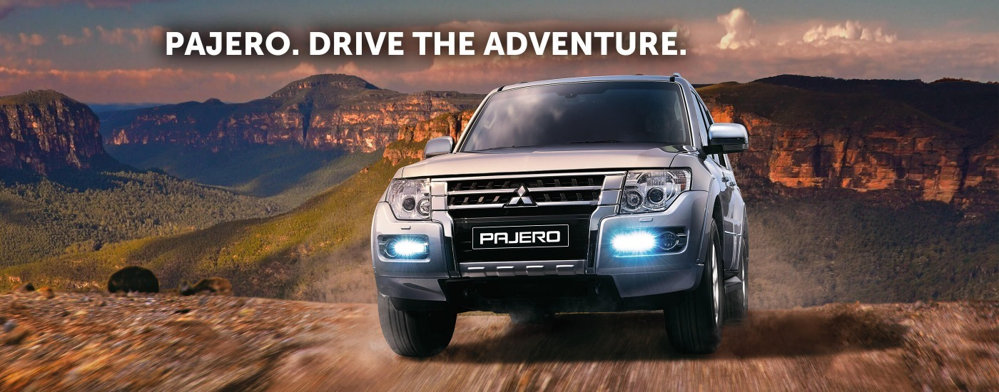 Pajero. Drive The Adventure.