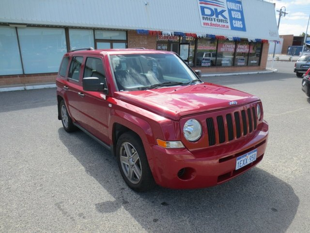 Used Jeep Patriot Sport CVT Auto Stick, Wangara, 2008 Jeep Patriot Sport CVT Auto Stick Wagon