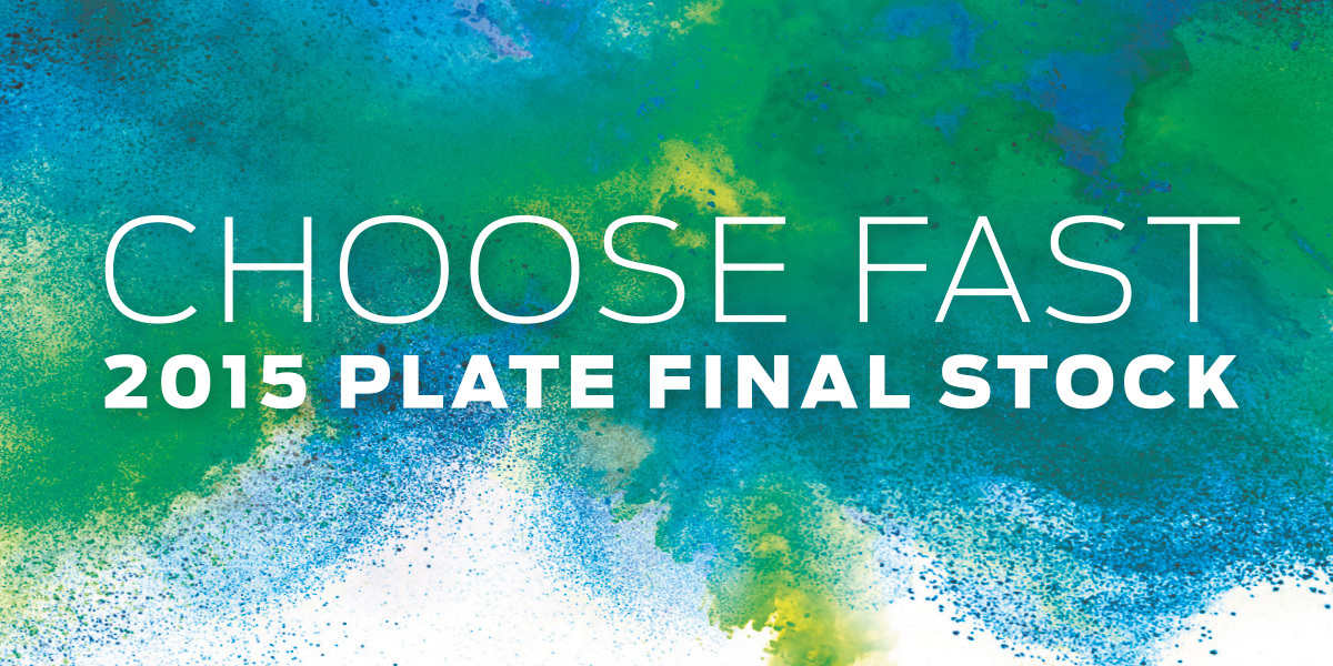 Choose Fast 2015 Plate Final Stock
