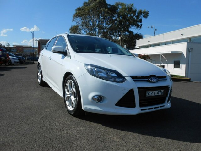 Used Ford Focus Sport PwrShift, Nowra, 2015 Ford Focus Sport PwrShift LW MKII MY14 Hatchback