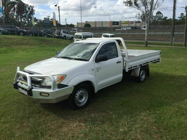 Used Toyota Hilux SR, Burleigh Heads, 2006 Toyota Hilux SR GGN15R MY05 Cab Chassis