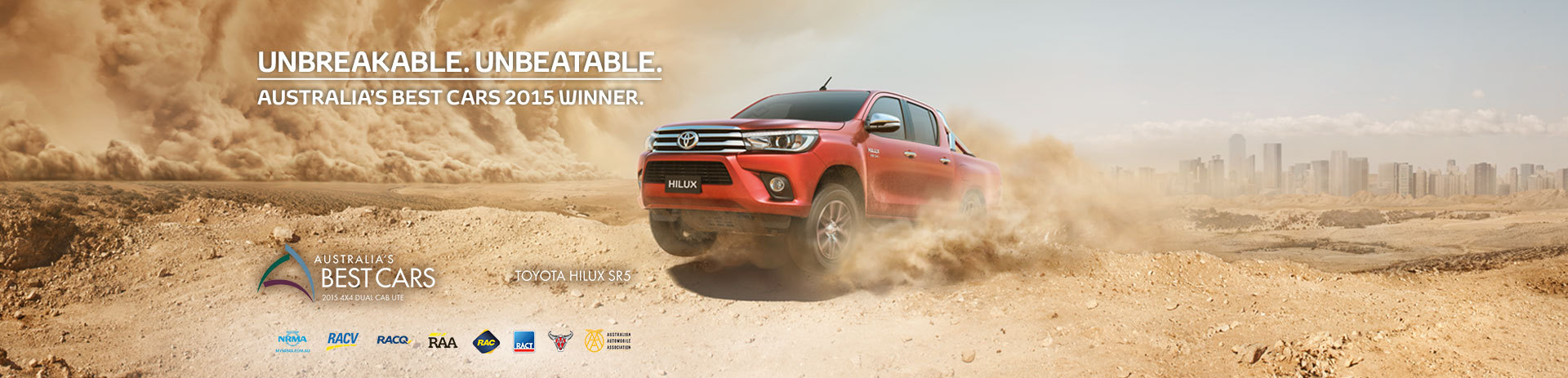 Hilux SR5 Australia's Best Car Award