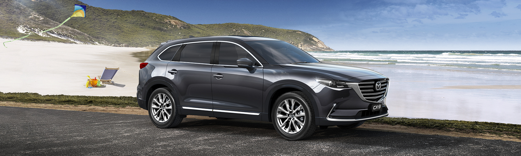 Win a Brand-New Mazda CX-9. Enter for your family, win for yourself
