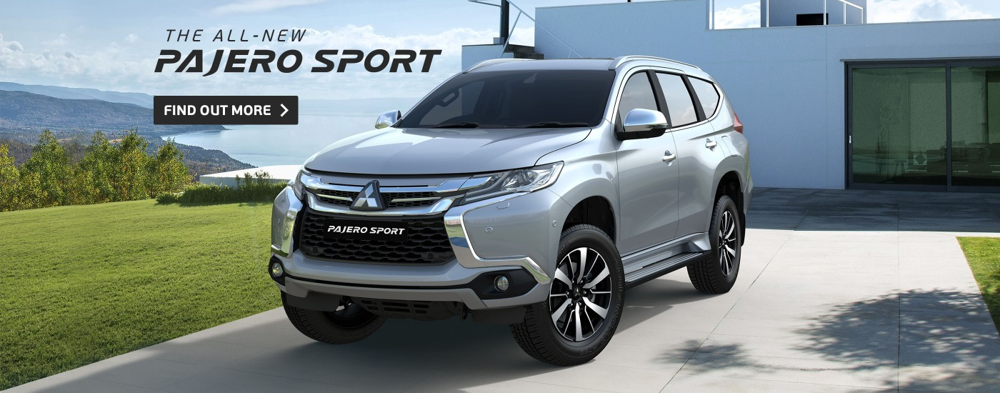 The All-New Pajero Sport