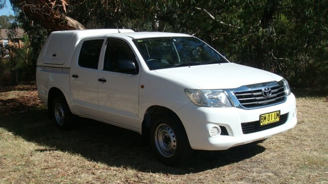 Used Toyota Hilux SR Double Cab, Queanbeyan, 2011 Toyota Hilux SR Double Cab Utility