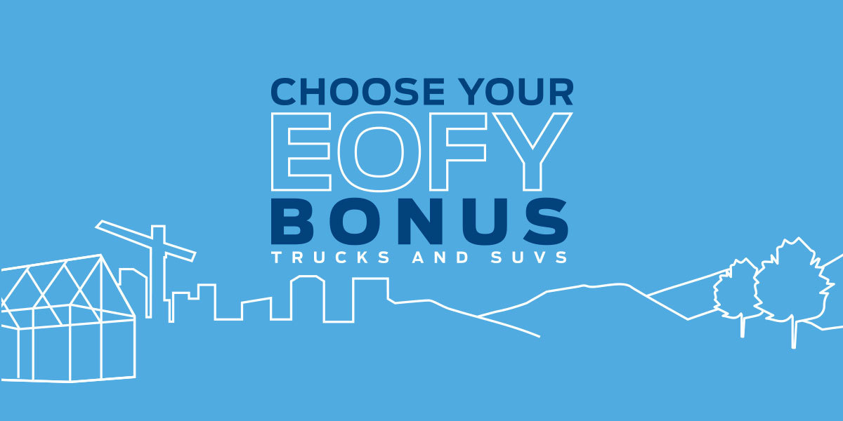 Choose Your EOFY Bonus