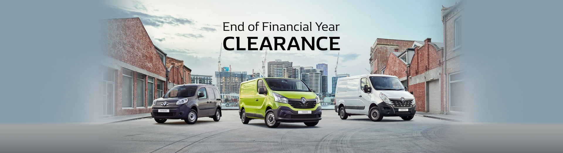 Renault - End of Financial Year Clearance