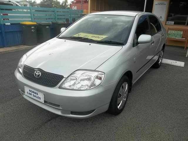 Used Toyota Corolla Ascent, North Rockhampton, 2004 Toyota Corolla Ascent Sedan