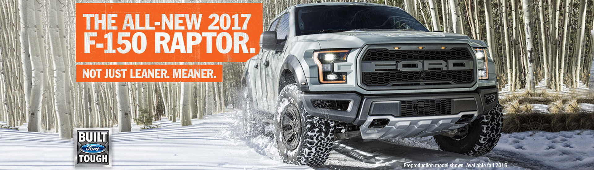 The All-New 2017 F-150 Raptor