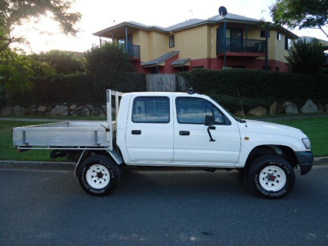 Used Toyota Hilux HILUX, Chermside, 2003 Toyota Hilux HILUX VZN167R Utility
