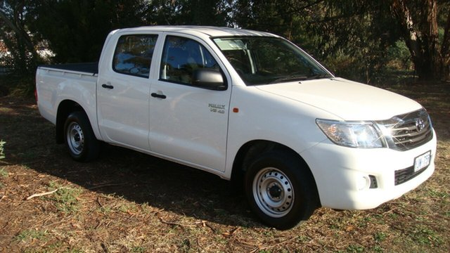Used Toyota Hilux SR Double Cab, Queanbeyan, 2014 Toyota Hilux SR Double Cab Utility