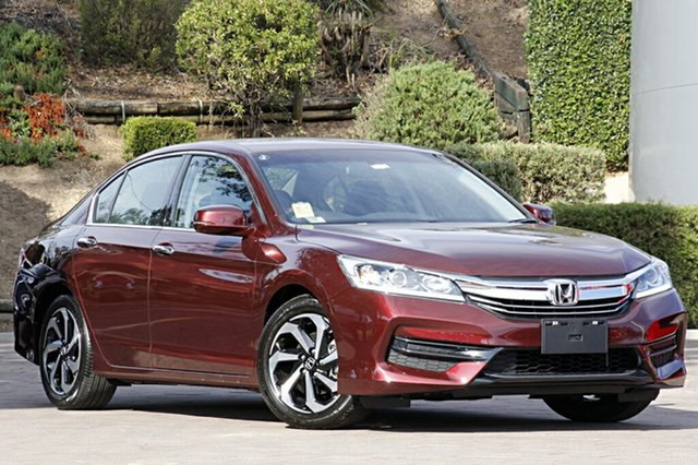 Discounted Demonstrator, Demo, Near New Honda Accord VTi, Southport, 2016 Honda Accord VTi Sedan