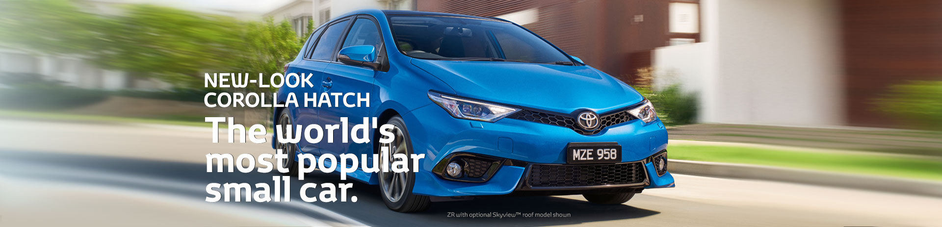 New-Look Corolla Hatch