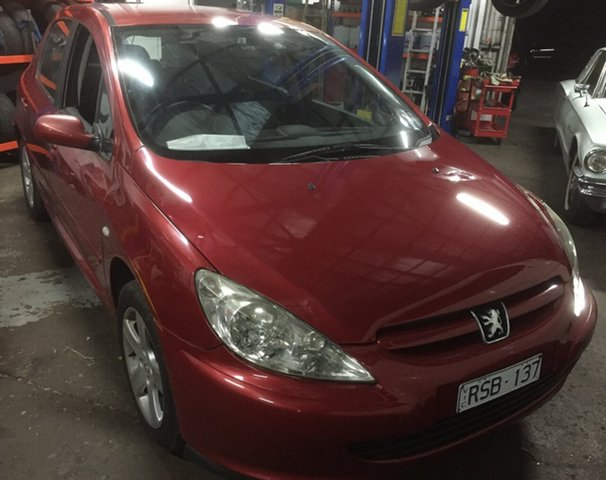 Used Peugeot 307 2.0, Glen Waverley, 2002 Peugeot 307 2.0 Hatchback