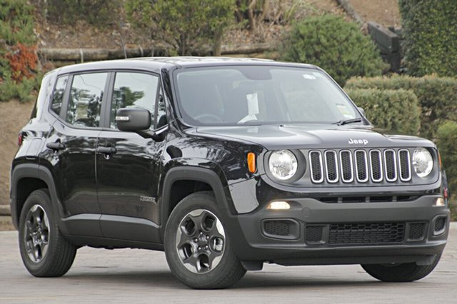 Discounted Demonstrator, Demo, Near New Jeep Renegade Sport DDCT, Southport, 2016 Jeep Renegade Sport DDCT SUV