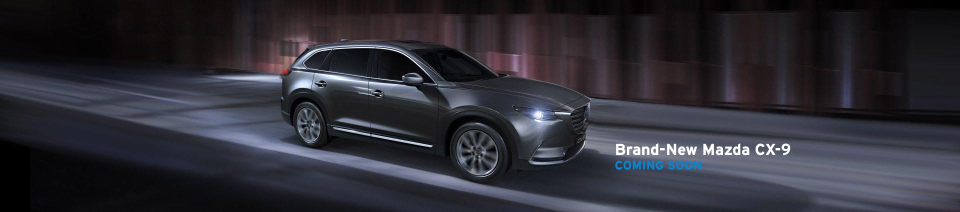 Brand-New Mazda CX9