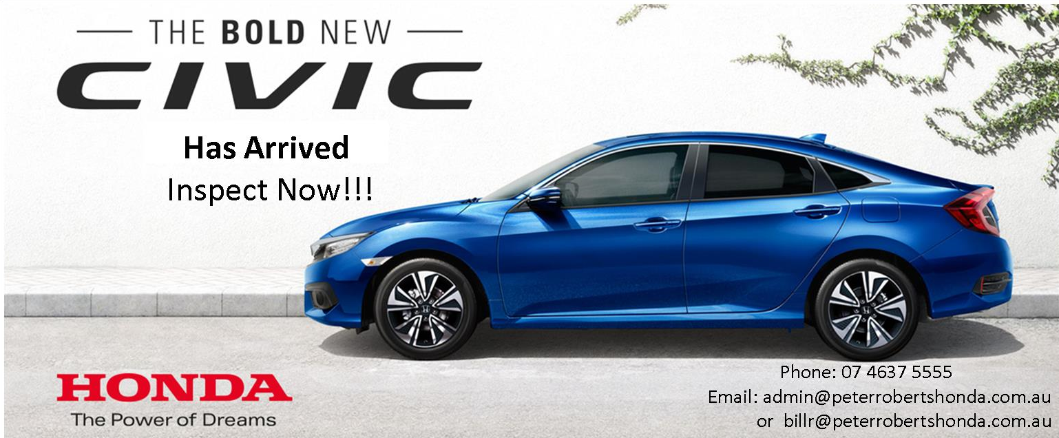 Enquiry NOW New Honda Civic