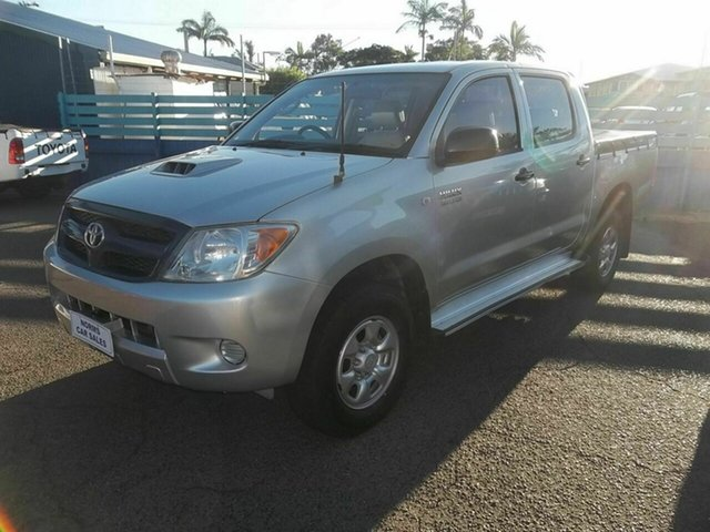 Discounted Used Toyota Hilux SR (4x4), North Rockhampton, 2007 Toyota Hilux SR (4x4) Dual Cab Pick-up