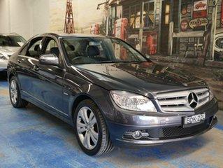 Used Mercedes-Benz C200 Kompressor Avantgarde, Marrickville, 2007 Mercedes-Benz C200 Kompressor Avantgarde W204 Sedan