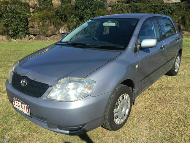 Used Toyota Corolla Ascent, Burleigh Heads, 2002 Toyota Corolla Ascent ZZE122R Hatchback