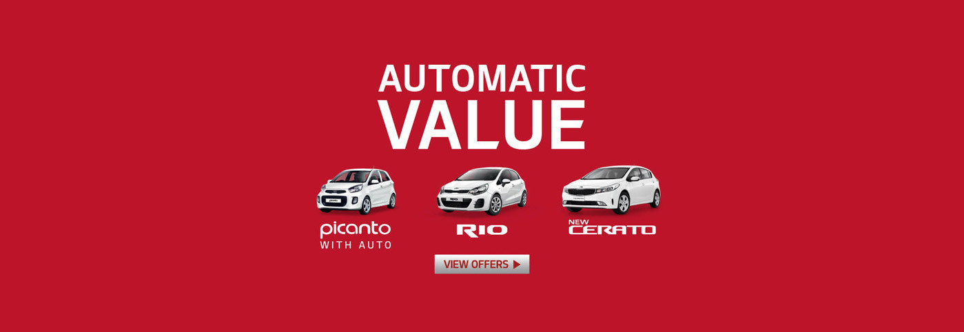 Kia National Offer - Automatic Deals