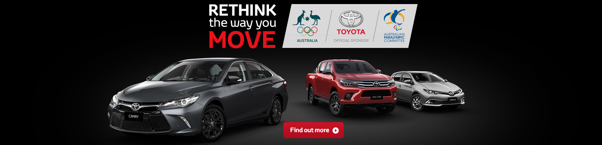 Toyota National Offer - Deals The Move You