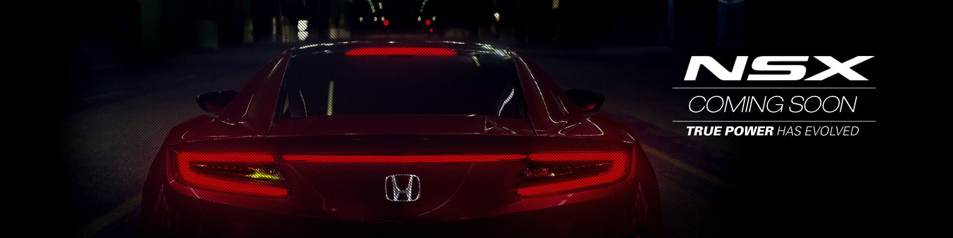 Honda NSX | Coming Soon