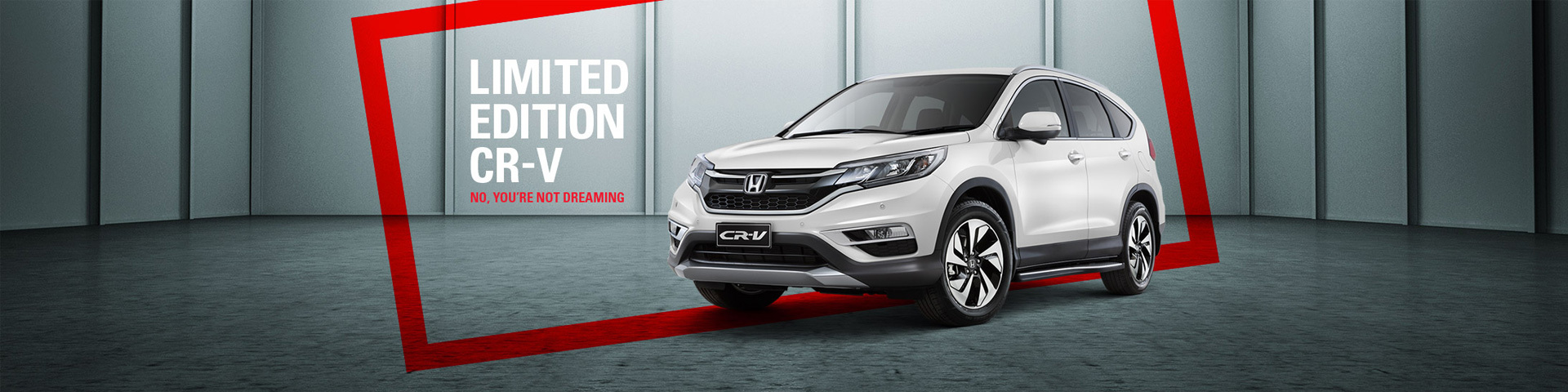 Naional Offer - Limited Edition CR-V