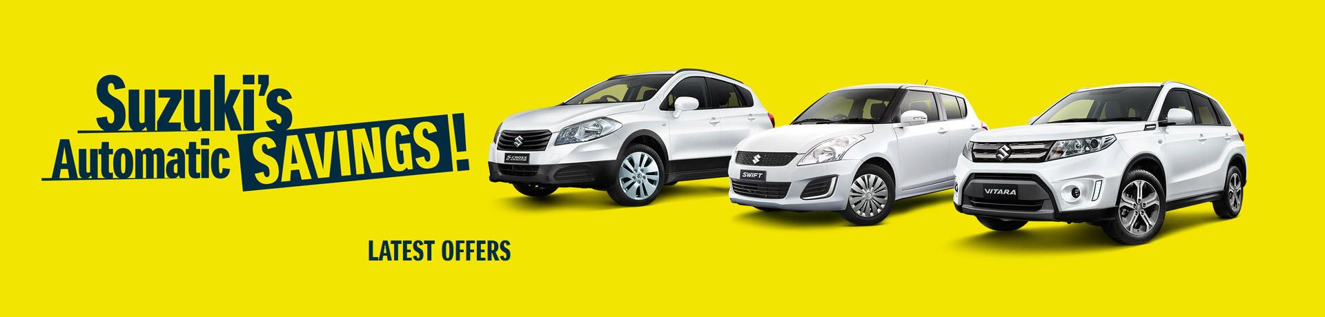 Suzuki - Automatic Savings