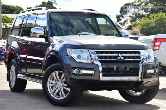 Demonstrator, Demo, Near New Mitsubishi Pajero GLX, Bowen Hills, 2018 Mitsubishi Pajero GLX Wagon