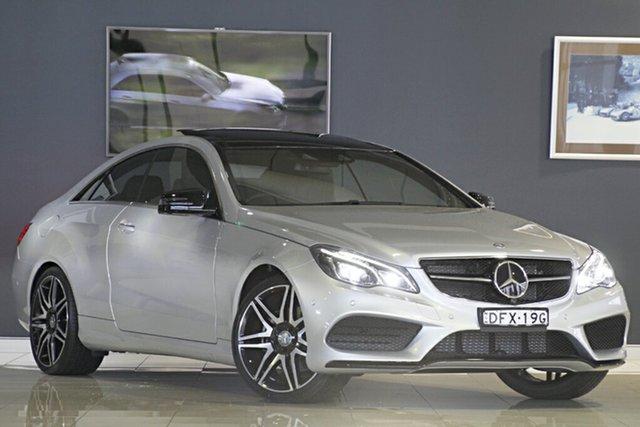 Demonstrator, Demo, Near New Mercedes-Benz E250 7G-Tronic +, Narellan, 2016 Mercedes-Benz E250 7G-Tronic + Coupe