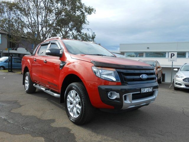Used Ford Ranger Wildtrak Double Cab, Nowra, 2012 Ford Ranger Wildtrak Double Cab PX Dual Cab