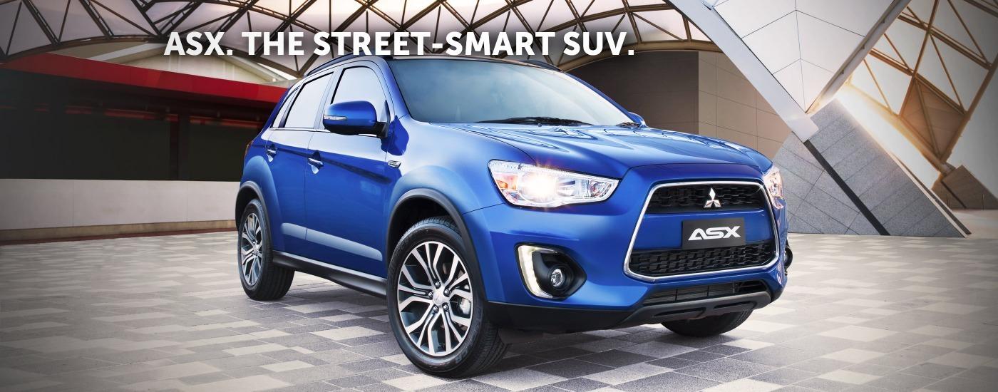 ASX. The Street Smart SUV.