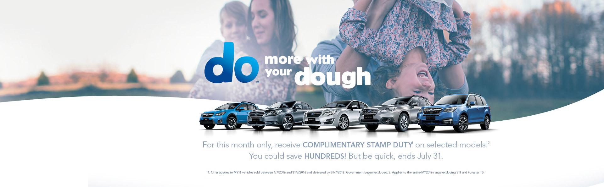 Subaru SA Offer