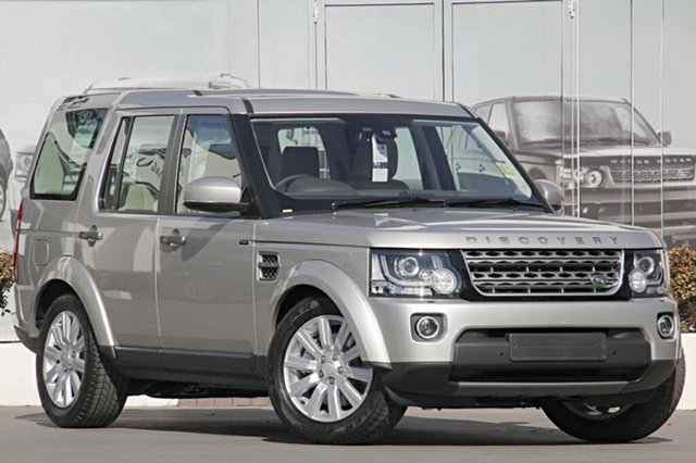 New Land Rover Discovery TDV6, Narellan, 2016 Land Rover Discovery TDV6 SUV