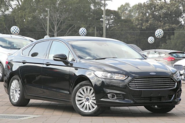 Discounted Demonstrator, Demo, Near New Ford Mondeo Trend SelectShift, Warwick Farm, 2016 Ford Mondeo Trend SelectShift Hatchback