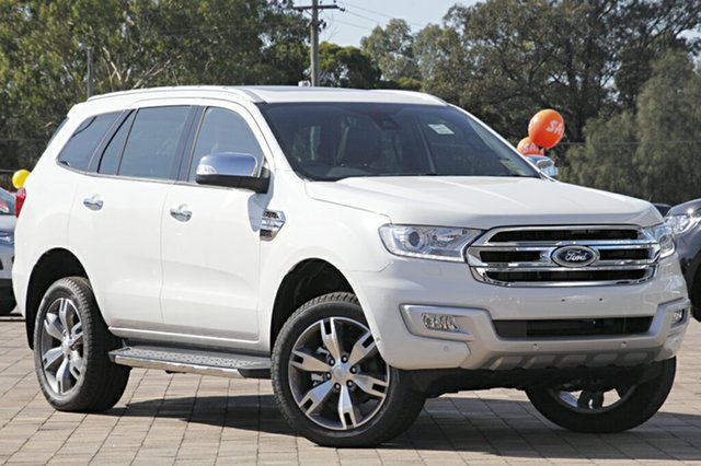 Discounted Demonstrator, Demo, Near New Ford Everest Titanium, Southport, 2016 Ford Everest Titanium SUV