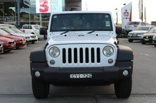 Used Jeep Wrangler Unlimited Sport, 2015 Jeep Wrangler Unlimited Sport JK MY2015 Softtop