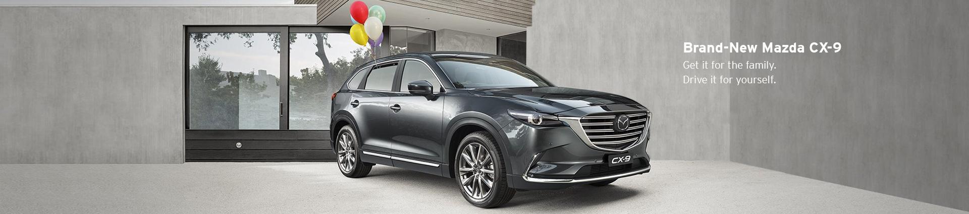Brand-New Mazda CX-9